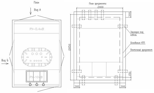 КТП Т в/в(к) 400/10(6)-0,4