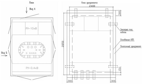 КТП П кк/к 400/10(6)-0,4