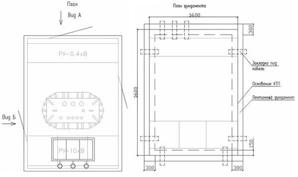 КТП Т в/в(к) 63/10(6)-0,4