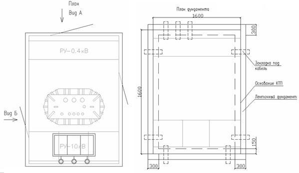 КТП Т в/в(к) 100/10(6)-0,4